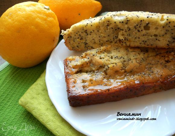 Лимонный пирог от Джейми Оливера