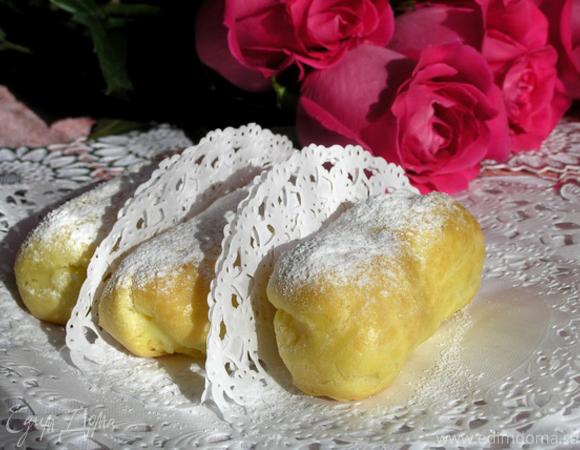 Эклеры с лимонным заварным кремом