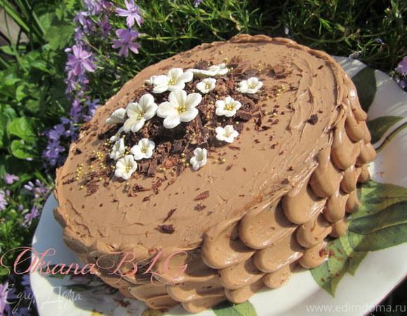 """Торт """"Шоколадные тучки"""""""