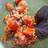 Крем-суп из шпината с морковкой и кунжутом :-)