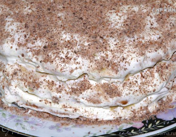 Сметанный тортик с бананом «Для любимых»