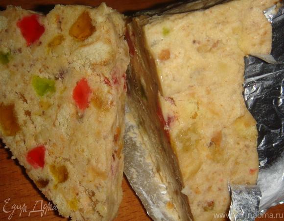 Cладкий пирог без выпечки
