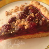 Вишневый пирог-желе