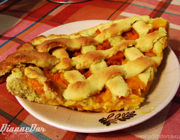 Ароматный абрикосовый пирог