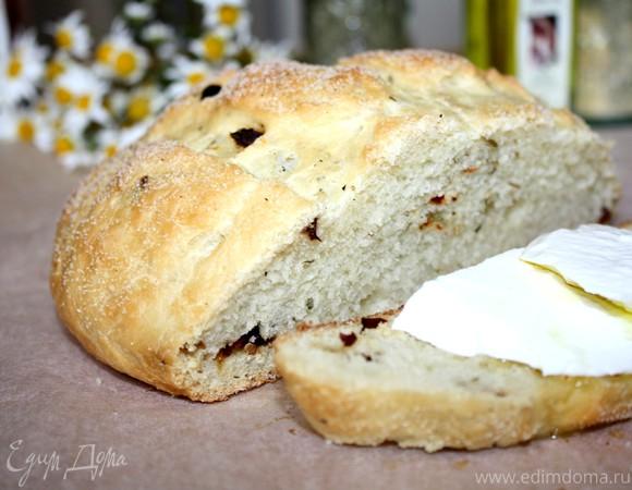 Хлеб с манной кашей