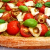 Пирог с помидорами и тапенадом из оливок