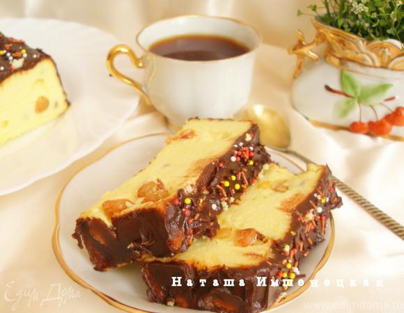 Сырник с клюквой и шоколадным штрейзелем