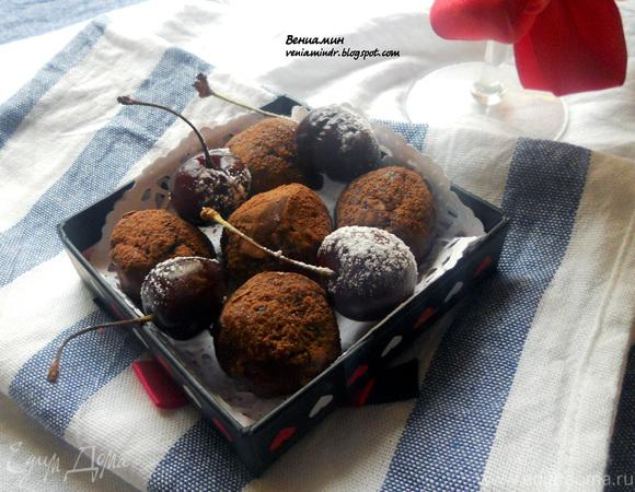 Мятно-черешневые конфеты для Марии (Со_вкусом_ванили)