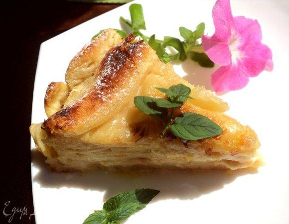 Пирог «Яблоки в коньяке»