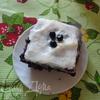 """Черничный пирог с """"занавеской"""""""