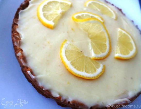 Кростата с лимонным кремом