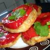 Мини-пироги с болгарским перцем