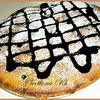 Нежный пирог со сливами и нектаринами