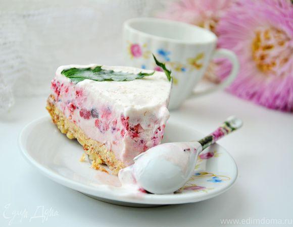 Ягодный торт-мороженое