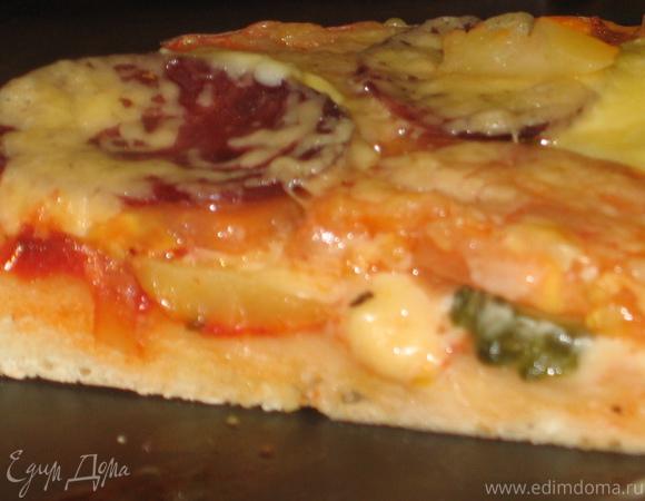 Пицца многослойная по-деревенски