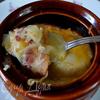 Луково-беконовый суп