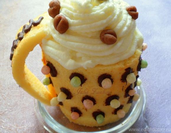 """Мини-торты """"Чашка кофе"""""""