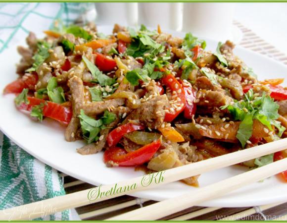 салат из говядины рецепт с фото в контакте
