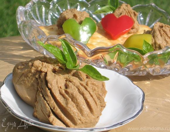 как приготовить паштет из индюшачьей печени