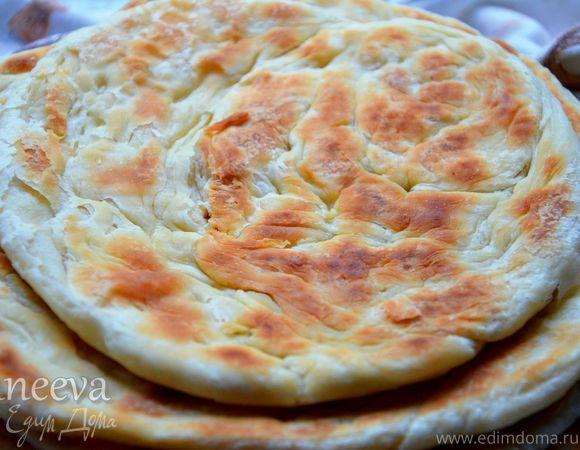 Шткар фу (Лезгинский слоеный хлеб)