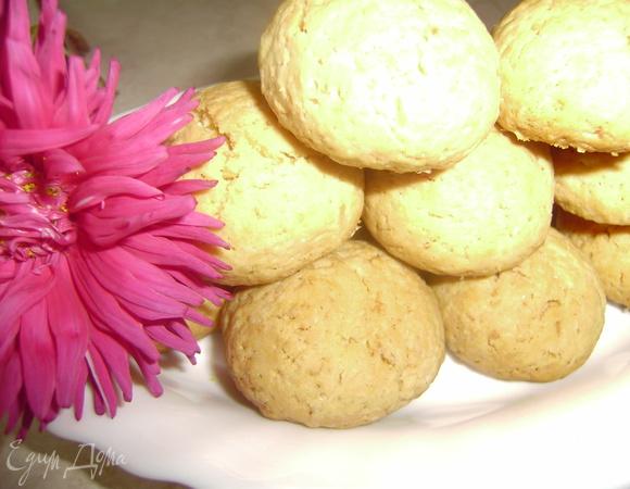 Вкусное кокосовое печенье
