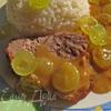Мясо в виноградном соусе
