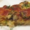 Сливочно-грибной пирог