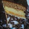 Тройной торт с кремом, покрытый шоколадом (Tripla torta alla crema ricoperta di cioccolato)