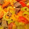 Остренькая говядина с овощами