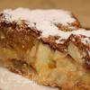 Ржаной яблочный пирог с цукатами