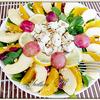 Фруктовый салат с сыром фета