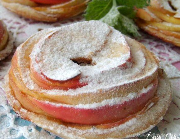 """Пирожное слоеное """"Яблочко"""""""
