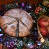 Ореховая шарлотка на сгущенке