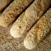 Багеты с зернами кунжута