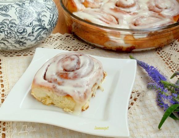 Булочки Синабон (Cinnamon rolls)
