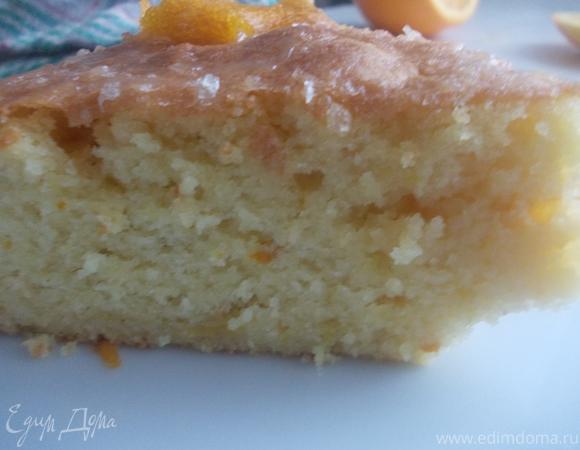 """Греческий пирог """"Равани"""" с апельсиновой глазурью"""