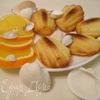 """Апельсиновое """"Мадлен"""" с рикоттой"""