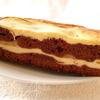 Брауни творожно-банановый