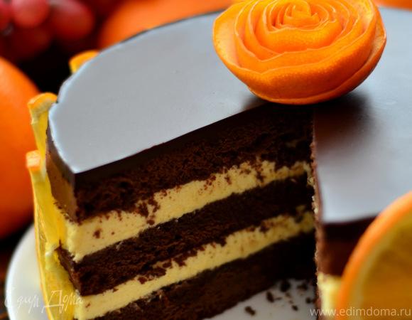 торт апельсиновый рецепт