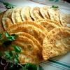 Картофельные чебуреки для постящихся и не только