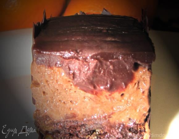 """апельсиново-шоколадный десерт """"Барселона"""""""
