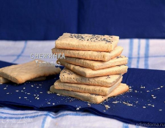 Хрустящее сметанное печенье