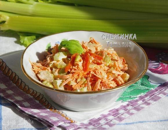 Салат с морковкой и курагой