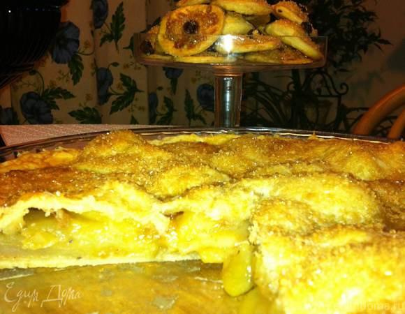 Классический яблочный пирог от американской бабушки (Apple pie)