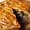 Мясной пирог с вялеными томатами
