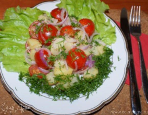 """Салат из зеленого лука """"Дачный"""""""