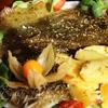 Королевская Тюрбо в прованских травах с луковым соусом