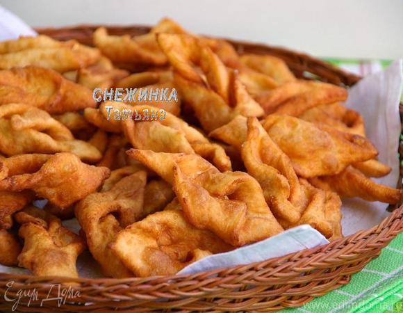 Хворост картофельный (Хрушчы бульбяныя)