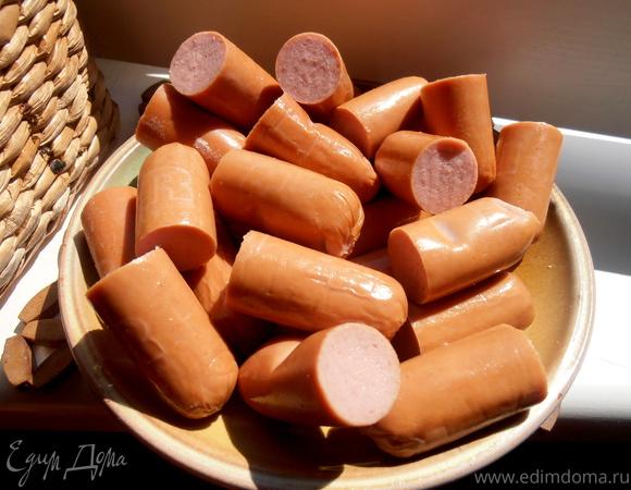 И снова конфеты... из сосисок