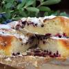 Нежный бисквит с жимолостью или любой другой ягодкой